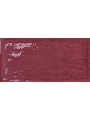 Csempe, Cerámica Álbaro Metro csempe Rustico Granate 7,5*15 cm MS.o. OOP