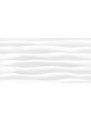 Csempe, Khan Celine White 30*60 cm hullámos fényes fehér 4695 I.o.