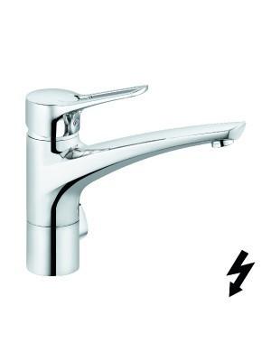 Kludi, MX, mosogatócsaptelep elektromos vízmelegítőhöz multi-csatlakozóval 399070562