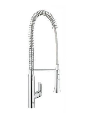 Grohe, K7 egykaros mosogató csaptelep zuhanyfejjel, 32950000