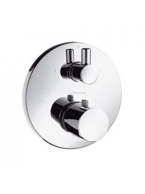 Hansgrohe, Ecostat S, termosztátos csaptelep színkészlet falsík alatti szereléshez, elzáró- és váltószeleppel, 15721000