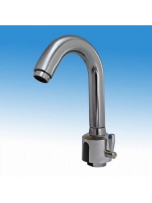 B&K, Víztakarékos infravezérlésű mosdócsaptelep DESIGN kifolyóval, H-M, BK03006000000004