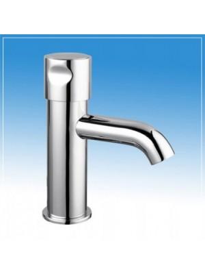 B&K, Időzített, nyomógombos, fejben keverős mosdócsaptelep H-M vízre (15+-5 mp), BK03515000000001