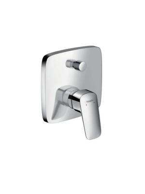 Hansgrohe, Logis, egykaros, falsík alatti zuhanycsaptelep színkészlet, 71405000