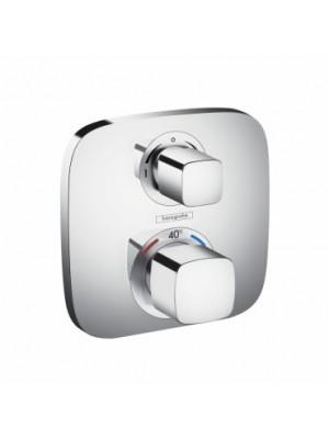 Hansgrohe, Ecostat E, falsík alatti termosztátos csaptelep, 2 fogyasztóhoz, 15708000