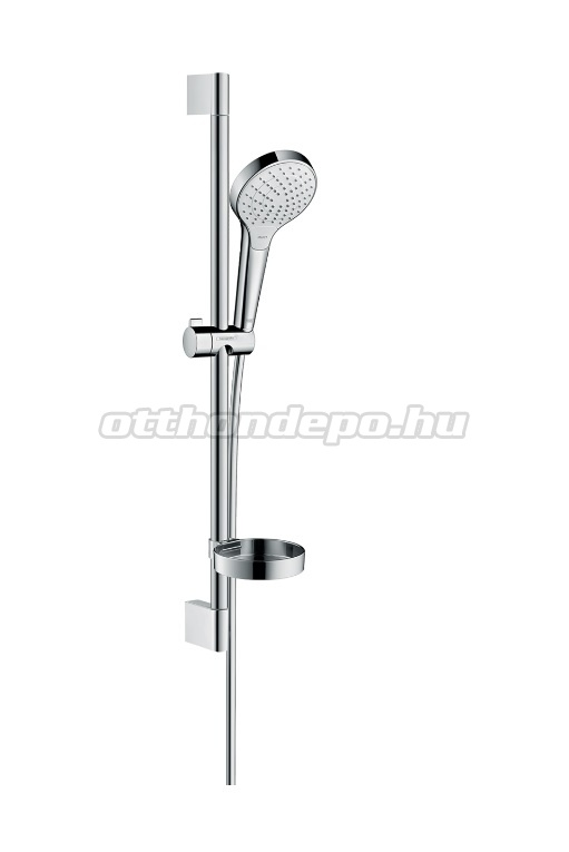 hansgrohe croma select s vario zuhanyszett 0 65m szappantart val kr m feh r 26566400. Black Bedroom Furniture Sets. Home Design Ideas