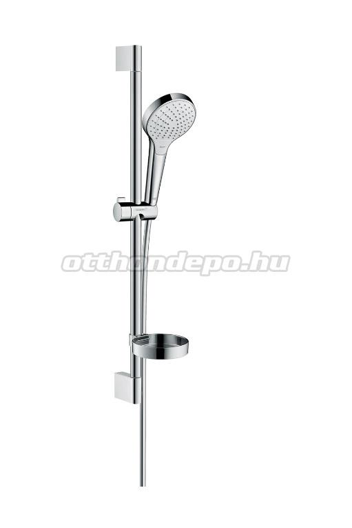 hansgrohe croma select s vario zuhanyszett 0 65m szappantart val kr m feh r 26566400. Black Bedroom Furniture Sets. Home Design Ideas