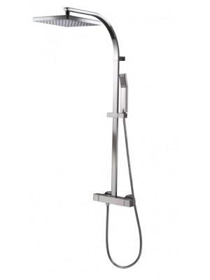 HSK, RS Square termosztátos zuhanyszett