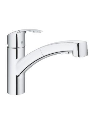Grohe, Eurosmart, kihúzható zuhanyfejes konyhai csaptelep, 30305000