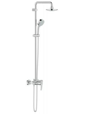 Grohe, New Tempesta Cosmopolitan egykaros zuhanyrendszer, 160 mm fejzuhannyal, 2 funkciós kézizuhannyal 26224000