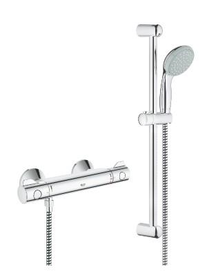 Grohe, Grohtherm 800 termosztátos zuhanycsaptelep, 2 funkciós kézizuhannyal 34565000