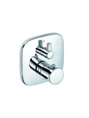 Kludi, Amba, falsík alatti termosztátos zuhanycsaptelep, 538350575