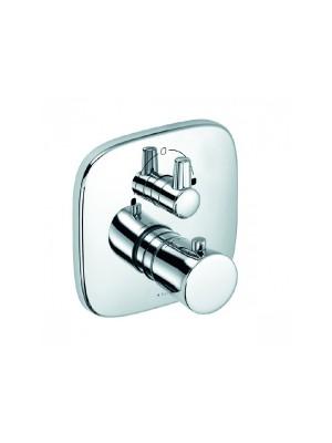 Kludi, Amba, falsík alatti termosztátos kád/zuhanycsaptelep, 538300575