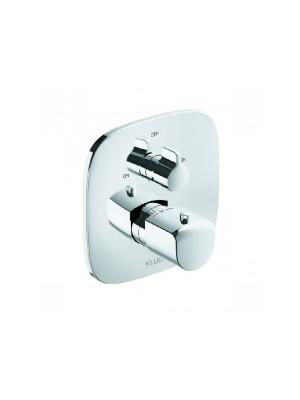 Kludi, Ameo, falsík alatti termosztátos kád-és zuhanycsaptelep, 418300575