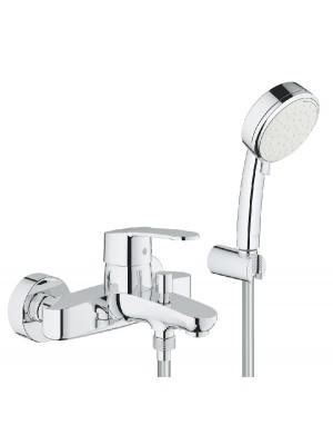 Grohe, Eurostyle Cosmopolitan egykaros kádcsaptelep fali zuhanyszettel, 3359220A