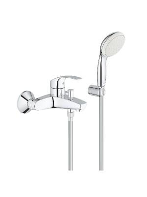 Grohe, Eurosmart egykaros kádcsaptelep fali zuhanyszettel, 3330220A