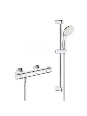 Grohe, Grohtherm 800 termosztátos zuhanycsaptelep, 2 funkciós kézizuhannyal 34565001