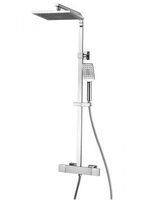 Wellis, Cascade, termosztátos, állítható magasságú zuhanyoszlop WZ00083