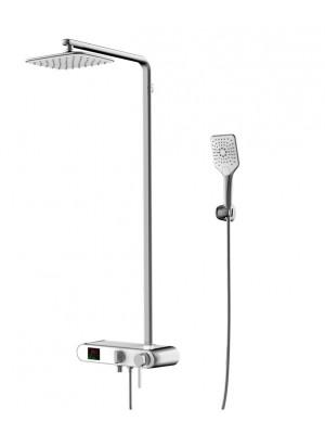 Wellis Imber intelligens termosztátos zuhanyoszlop 160x50x38, ACS0305