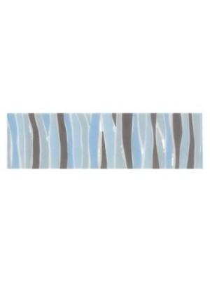 Listello, Kio, Righe Blue 6*20 cm I.o.