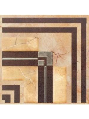 Padlódekor, Fanal, Cenefa Mares Crema 15*15 cm, I.o