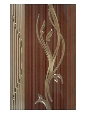 Dekorcsempe, Khan Sorel Brown Lux 7549 25*40 cm I.o.
