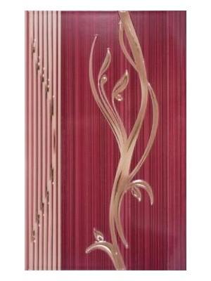 Dekorcsempe, Khan Sorel Bordo Lux 7544 25*40 cm I.o.