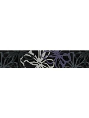 Listello, Keros BG Fresh Fly Negro 5*25 cm I.o. OOP