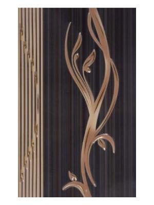 Dekorcsempe, Khan Sorel Black Lux 25*40 cm I.o.