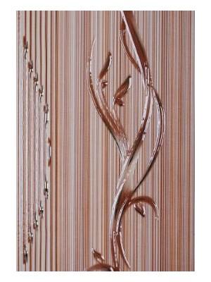 Dekorcsempe, Khan Sorel Caramel Lux 25*40 cm I.o. OOP
