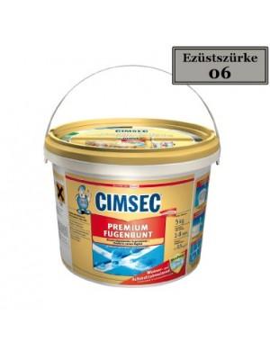 Cimsec, Prémium fugázó, ezüst szürke (06) 2kg vödrös