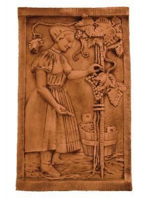 FabroStone, Falburkoló kép, Szüretelő I.