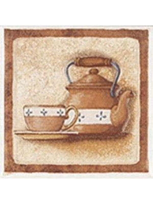 Dekorcsempe, Zalakerámia, Provance T-4 10*10 cm I.o.
