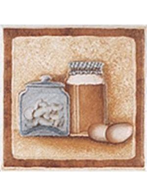 Dekorcsempe, Zalakerámia, Provance T-5 10*10 cm I.o.