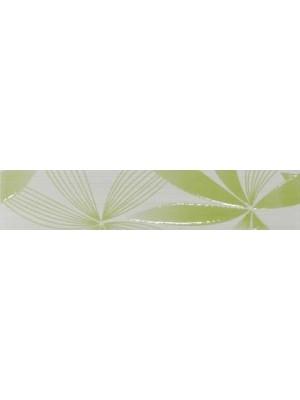 Listello, Khan, Rusana Green Comfort 6*30 cm 0527 I.o. OOP zöld