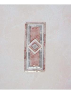 Dekorcsempe, Khan Gyros Bordo 20*25 cm 0854 I.o.
