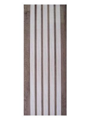 Dekorcsempe, Khan Lucia Strips Brown 20*50 cm 2258 I.o.