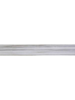 Lábazati elem, CD Sassuolo Batt. Leaf White LEBATWH 7,5*60 cm I.o.