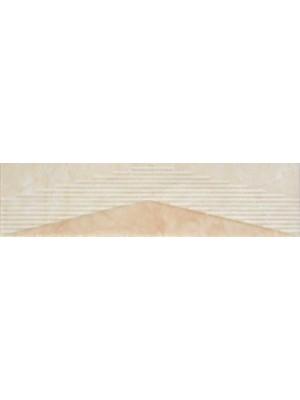 Listello, Zalakerámia, Albus SZ-2502 25*5 cm I.o.
