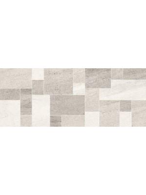 Dekorcsempe, Khan Nove Mosaic Grey 20*50 cm 5829 I.o.