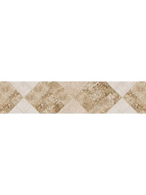 Listello, Khan Capri Rhomb Beige 5,5*25 cm 2769 I.o.