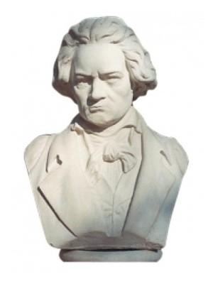 Fabro, Szobor, Beethoven mellszobor