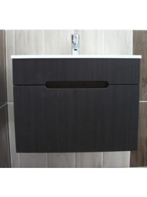 Fürdőszobabútor, tBoss Laura 60 alsó+tál/II. Venge