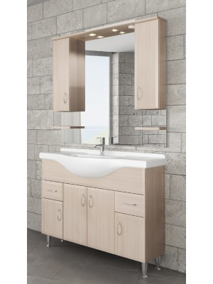 Fürdőszobabútor, tBoss, Classic Bianka 105