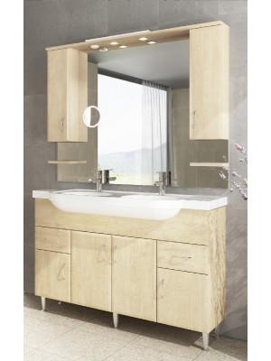 Fürdőszobabútor, tBoss, Classic Bianka 130