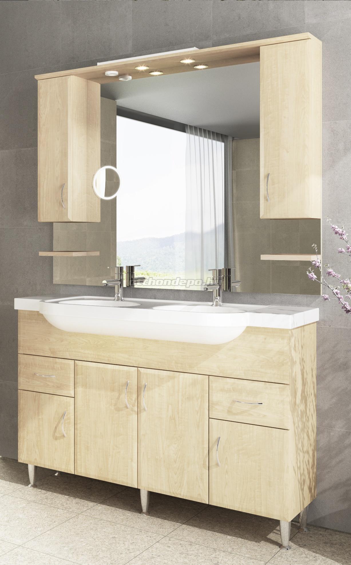 Fürdőszobabútor, tBoss, Bianka 130 - Otthon Depo Webáruház