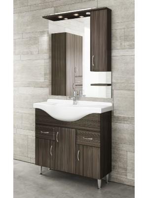 Fürdőszobabútor, tBoss, Classic Bianka 75