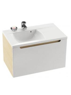 Ravak, SD Classic 800 fürdőszobabútor, nyír-fehér 80x49x47 cm