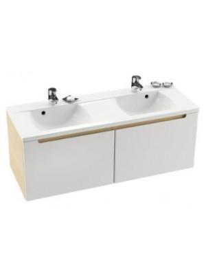 Ravak, SD Classic 1300 fürdőszobabútor, nyír-fehér 130x49x49 cm
