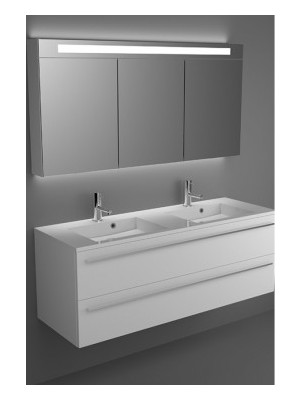 Riho, Broni fürdőszobabútor, 2fiókos 140 cm